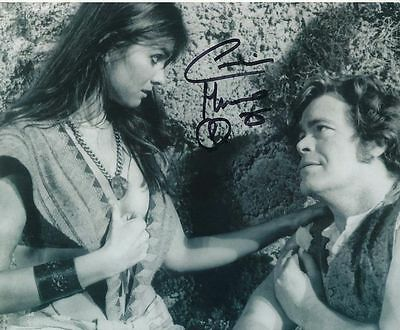 Caroline Munro In Person Signed Photo - At the Earth's Core - AG199