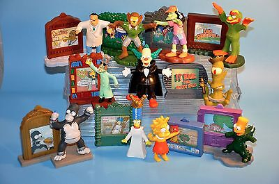 THE SIMPSONS Figure toy Lot Halloween BK Tree House of Horror