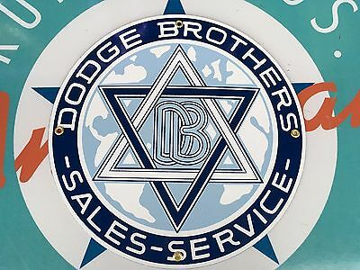 top quality DODGE BROTHERS sales SERVICE porcelain coated 18 GAUGE steel SIGN