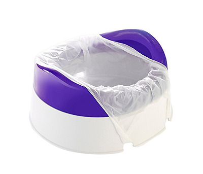 Travel Potty Babyway On The Move Toilet Training Incl 10 Liners & Travel Bag NEW