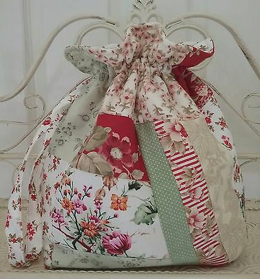 Crazypatch Drawstring Knitting and Crochet Project Bag