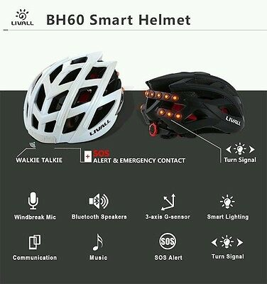 Livall BH60 smart and safe cycling helmet(From offical Canadian distributor)
