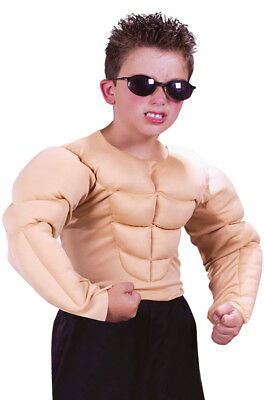 Muscle Shirt Boys Kids Child Halloween Costume