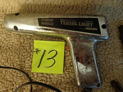 Stewart-Warner Test Equipment Chrome DC POWER TIMING LIGHT 6V & 12V,usa