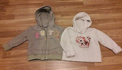 girls 18-24 months next jacket and hoodie
