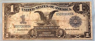 1899 $1 One Dollar Silver Certificate Sharp Nice FREE SHIPPING