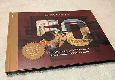 50th Anniversary Berkshire Hathaway Hardcover Book - Expanded Edition