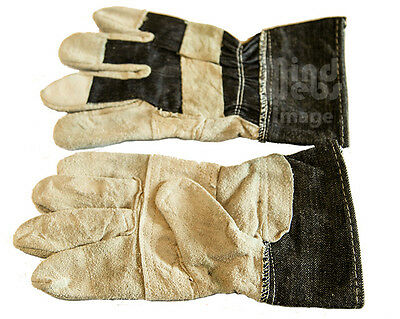 Leather Palm Gloves (2 pairs)