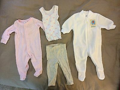 Mixed Pack Baby Girl Winter Clothes Size 000 - 0-3months