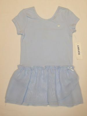 Old Navy NEW  Baby Girls Blue Romper Oufit Size 12-18 Months