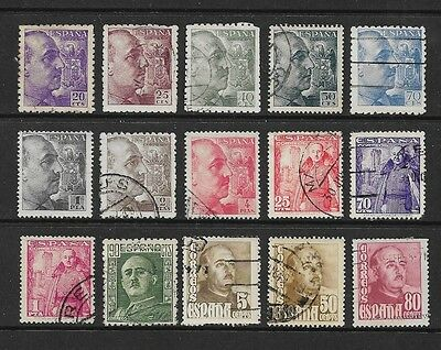 SPAIN - mixed collection, early General Franco, No.2