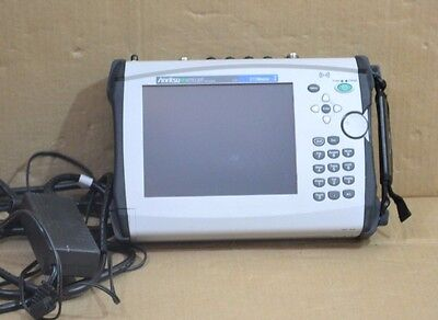 Anritsu MT8220T BTS Master Base Station Analyzer w/ Options 10/25/27/883/884