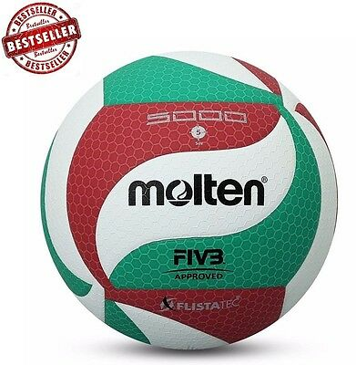 MOLTEN Volleyball Ball Size 5 V5M 5000 Soft Touch high quality Outdoor Indoor