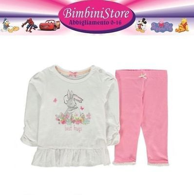 completo neonata Minnie 0 3 6 9 12 18 mesi originale Disney baby due set vestito