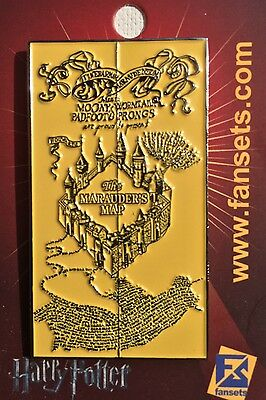 Harry Potter MicroCreatures Marauder's Map Collectors Pin Licensed FanSets