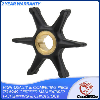 New Water Pump Impeller for Johnson / Evinrude 9.5 HP 10 HP 377178 775519 US