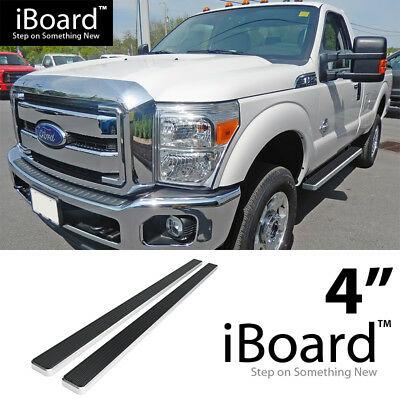 """Fit 99-16 Ford F250 Regular Cab 4/"""" Side Step Running Board Nerf Bar S//S H"""