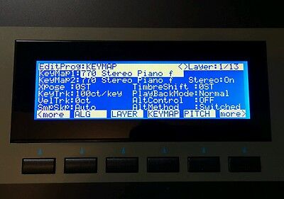 Kurzweil K2500 K2600 KSP8 RSP8 K2661 PC3 PC361 Graphic Display ! ( TM24064KQ )