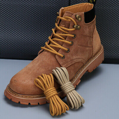 Shoelaces Waxed Round Boot Laces Walking Hiking Boot Laces Bootlaces Sneaker