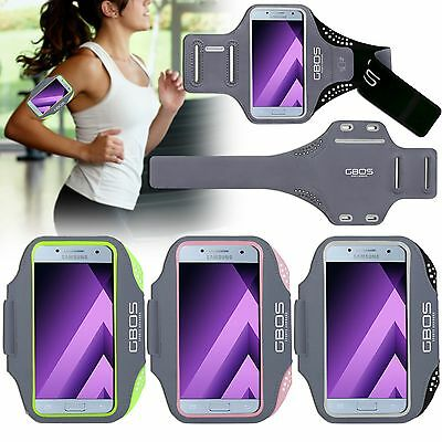 GBOS® Gym Armband For Samsung Galaxy A7 With Adjustable Running Exercise Case