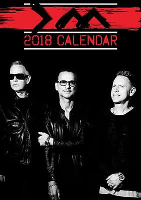 Depeche Mode Calendar 2018 Large Uk A3 Wall Poster Size Sealed By Oc Calendars