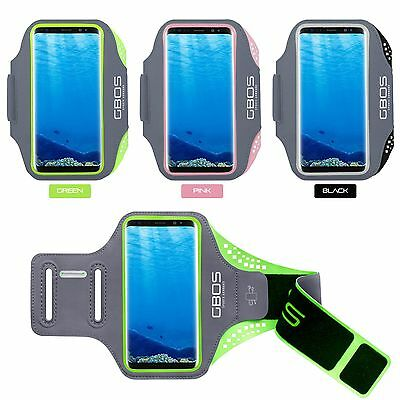 GBOS® Armband Case For Samsung Galaxy J7 J5 J3 2017 With Adjustable Gym Exercise