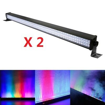 RGB 216LED DMX Wall Washer Lighting Bar LED Stage Light Party DJ Show Displays