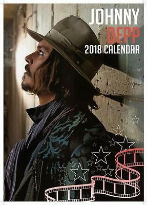 Johnny Depp Calendar 2018 Large Uk A3 Wall Poster Size Sealed By Oc Calendars