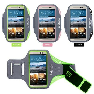 GBOS® Armband Case Gym Exercise With Adjustable For Model HTC One M10, M9 And M8