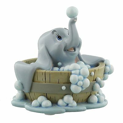 Disney Magical Moments Dumbo In Bath Baby Mine Figurine Ornament 10cm DI181