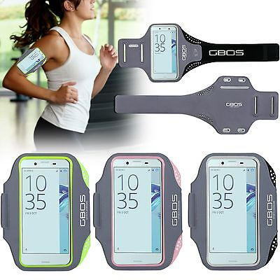 GBOS® Armband Sports Gym Exercise With Adjustable Case For Sony Xperia XA & XZ