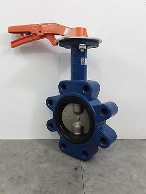 Wolseley Jet PN 160 DJLM Butterfly Valve 16 BAR 316 Stainless DN80 3""