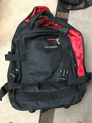 Carry On Travel Bag With Wheels And Laptop Slot - Voyager