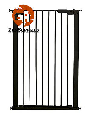 Extra Tall Baby Safety Gate - Pressure Fit Indicator Pet Dog Child Stair Barrier