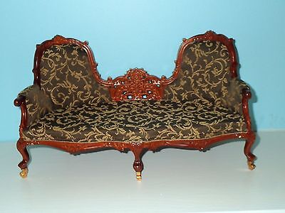 """1/6 th scale Victorian Lounge 12"""" to 14"""" doll highend quality JBM"""