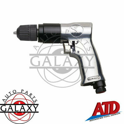 "ATD Tools Brand New 3/8"" Reversable Air Drill w/ Reversable Chuck 2143"