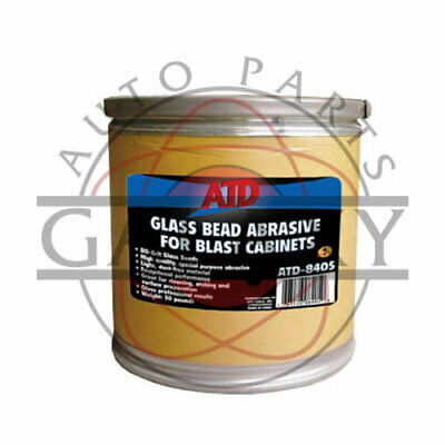 ATD Tools 8405 Brand New 80 Grit Glass Bead Abrasive For Blast Cabinets 50 lbs.