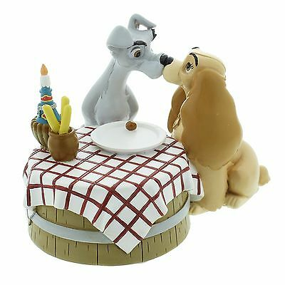Disney Magical Moments Lady And The Tramp Love Is Figurine 11cm DI193 RRP£20