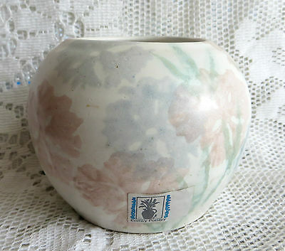 VINTAGE CONWY POTTERY WALES VASE - perfect with paper label
