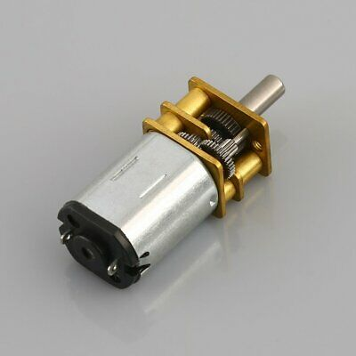 DC6V/12V N20 Gear Motor Micro Geared Box Electric Motor with Metal Gearbox Wheel