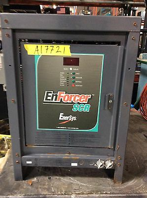 Used Charger - 24 Volt / 550AH / 1 Phase / Enersys brand Enforcer SCR / Tested