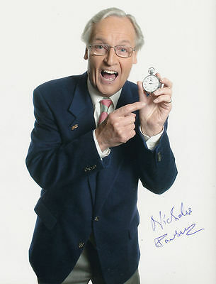 Nicholas Parsons In Person Signed Photo - Just a Minute - AG201