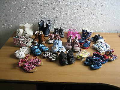 Children's Shoes / Slippers / Boots Job Lot - Various Sizes - Car Boot / Resale