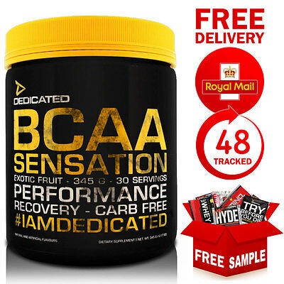 Dedicated Nutrition BCAA Sensation Recovery 345g 30 Servings