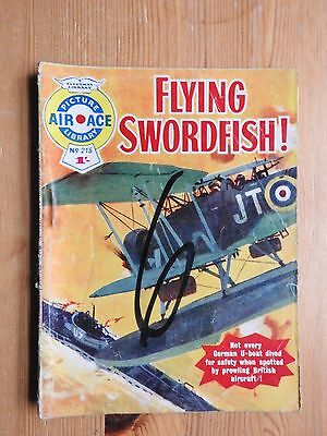 Air Ace Picture Library #215 - Flying Swordfish! VG Fleetway