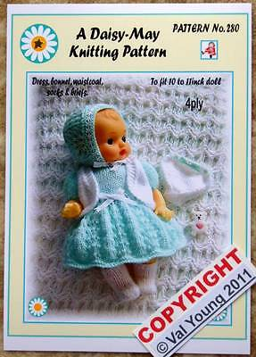 1 DOLLS KNITTING PATTERN for 10