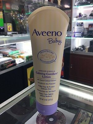 Aveeno Baby Lavender & Vanilla Calming Comfort Lotion With Natural Oatmeal
