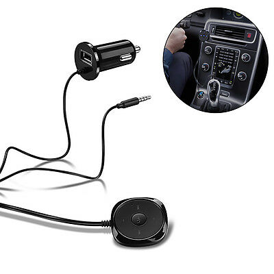 Wireless Bluetooth V2.1 Car Speaker Music Receiver AUX 3.5mm Adapter Kit MA993