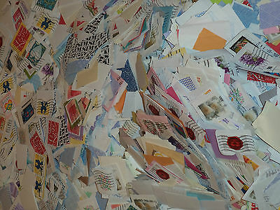 5 lb pound bag LOVE US postage stamp cleanly cut on paper 1000's variety