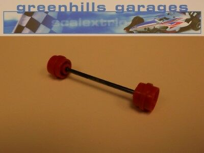 Greenhills Scalextric Team Simpson C616 Front Axle & Wheels Used – P2643